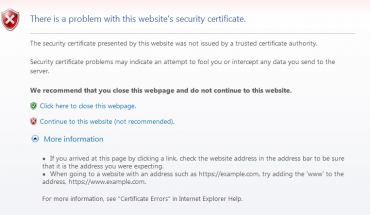 FIX: Internet browser forcing to use HTTPS automatically