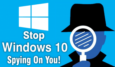 Disabling spying in Windows systems
