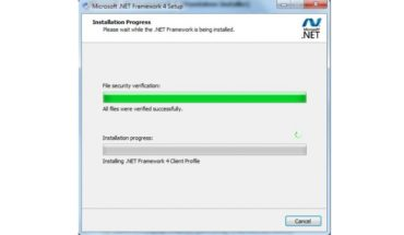 FIX: .Net Framework 4 freeze during installation